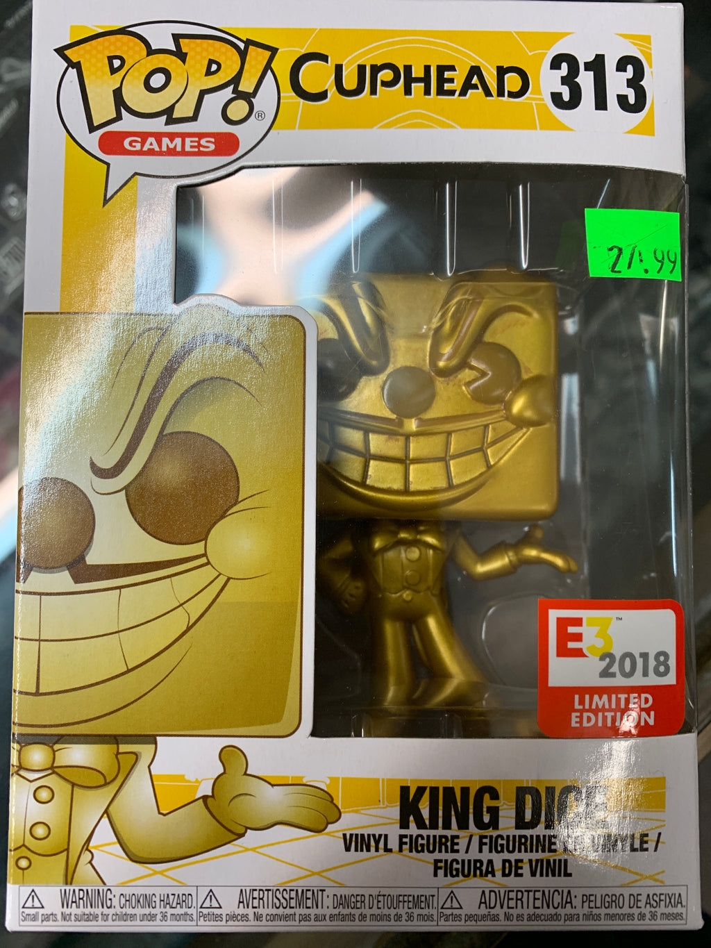 Funko POP! Games Cuphead King Dice (E3 2018)
