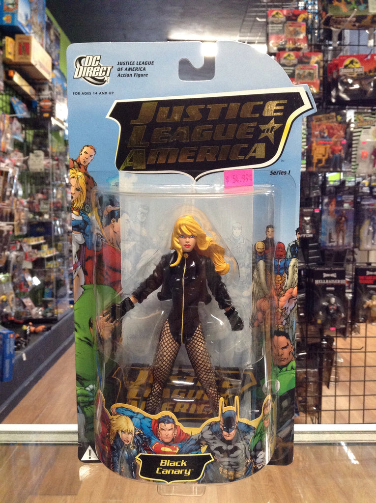 Dc Direct Justice League Of America Series 1 Black Canary