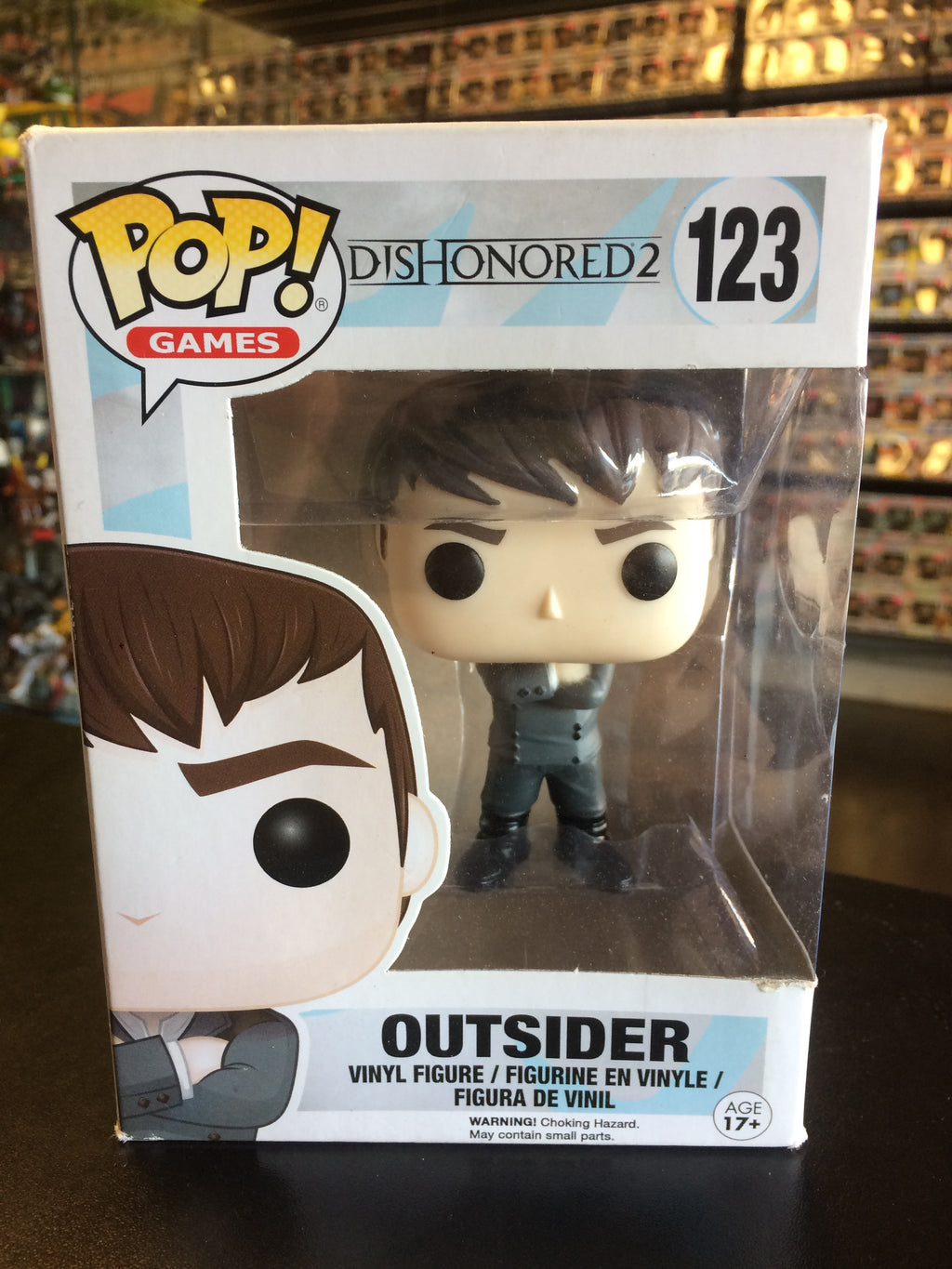 Funko Pop! Games Dishonored 2 Outsider #123