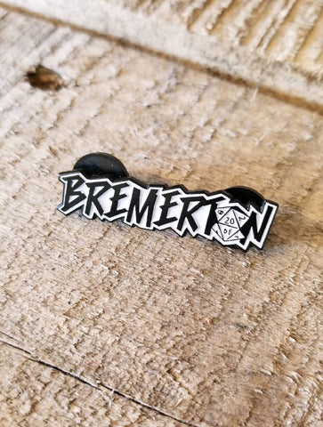Ashley's Pub Bremerton D20 · Enamel Pin