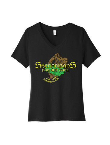 Shenanigans Pub And Grill · Ladies V-Neck