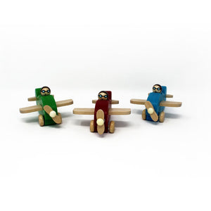 My Lil' Wooden Plane Set of 3