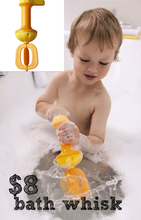 Load image into Gallery viewer, HABA Bubble Bath Whisk - Yellow