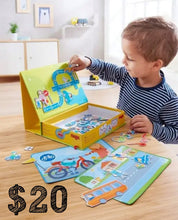 Load image into Gallery viewer, HABA Magnetic Game Box Street Sense