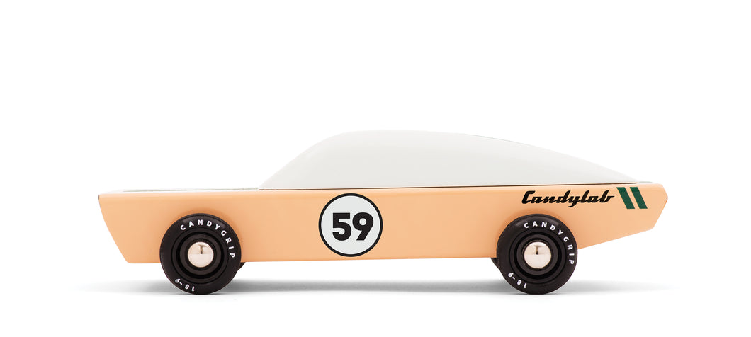 Ace Racer Candy Lab car