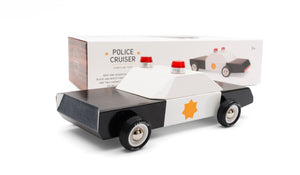 Police Cruiser Candy Lab car