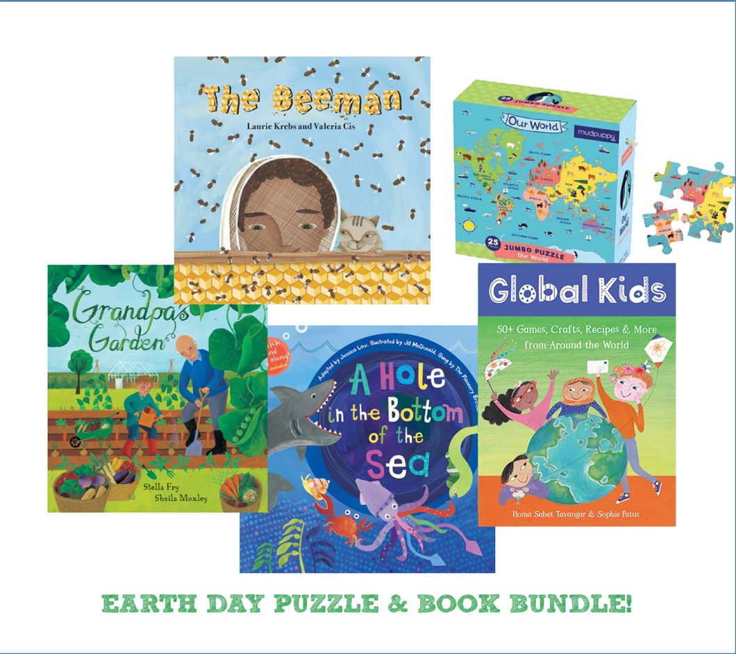 Earth Day Book & Puzzle Bundle