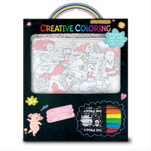 Load image into Gallery viewer, Creative Coloring: Carry All Pouch- Magical Mermaids