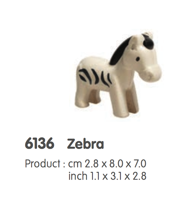 Plan Toys-Zebra figure