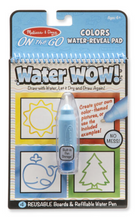 Load image into Gallery viewer, Water Wow! Colors & Shapes- On the Go Travel Activity