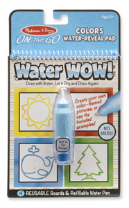 Water Wow! Colors & Shapes- On the Go Travel Activity