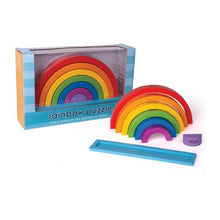 Load image into Gallery viewer, Wooden Rainbow stacker