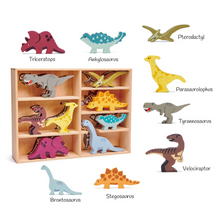 Load image into Gallery viewer, Tender Leaf wooden dinosaurs
