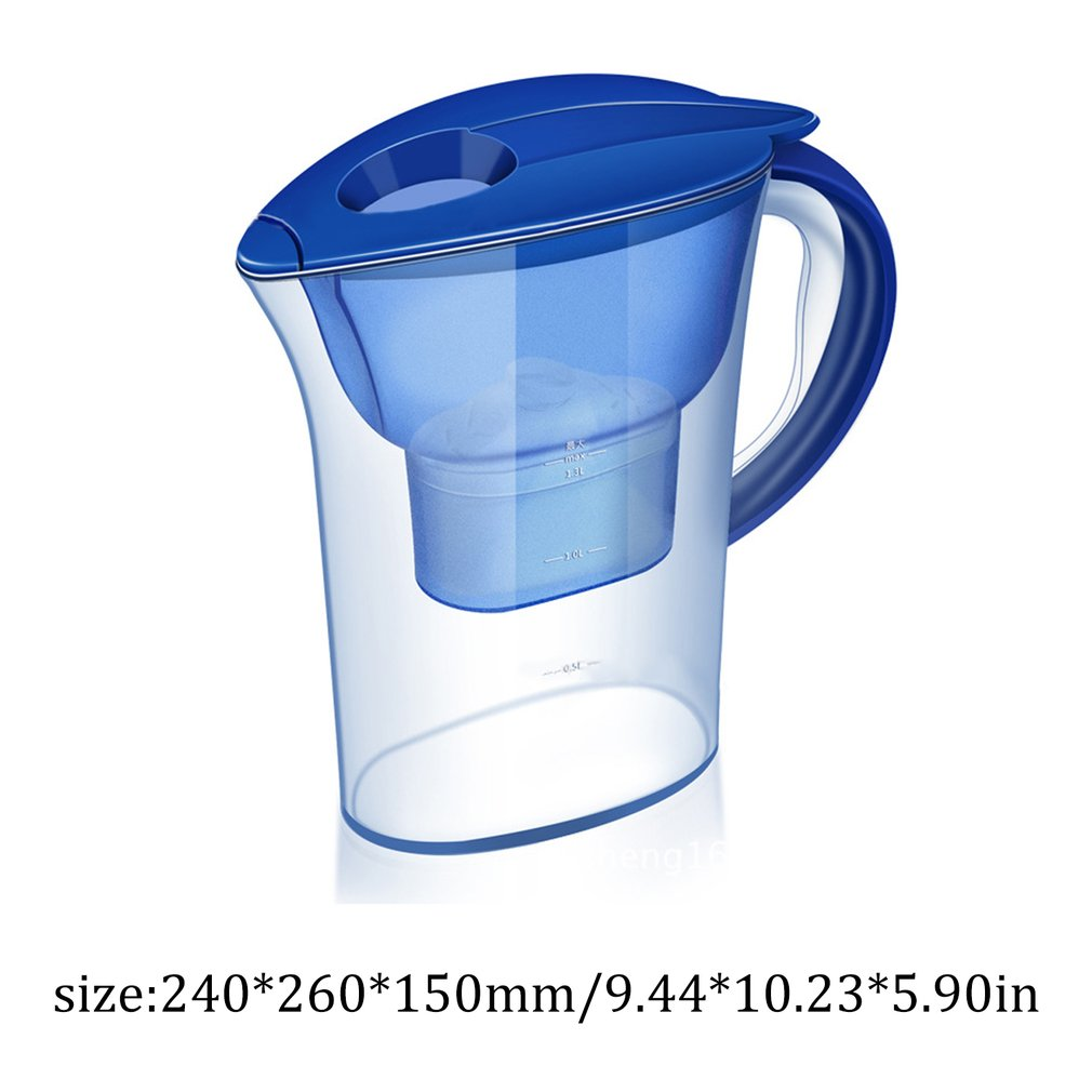 KitchenQuake® Water Filter Pitcher