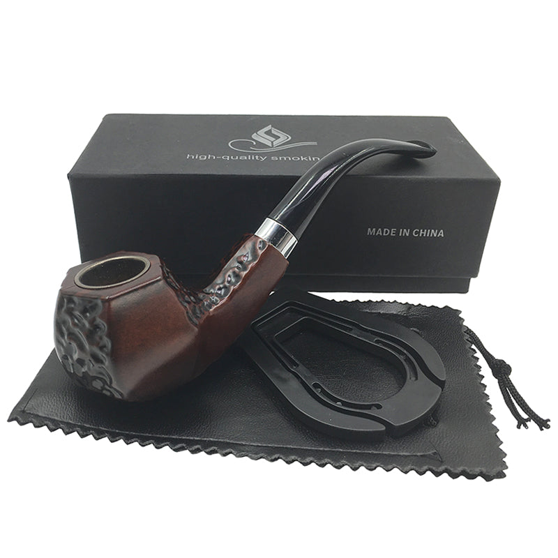 Angled Shaped Smoking Pipe