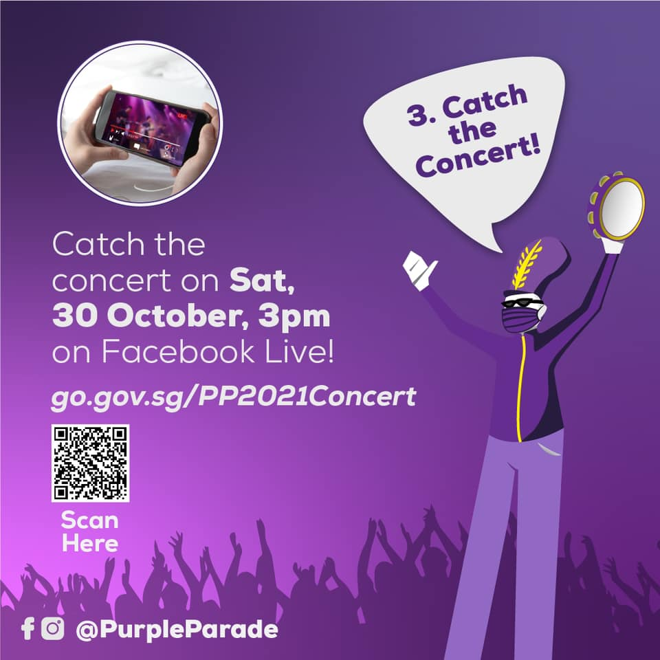 The Purple Parade Spectrum Store 3 Ways To Support Purple