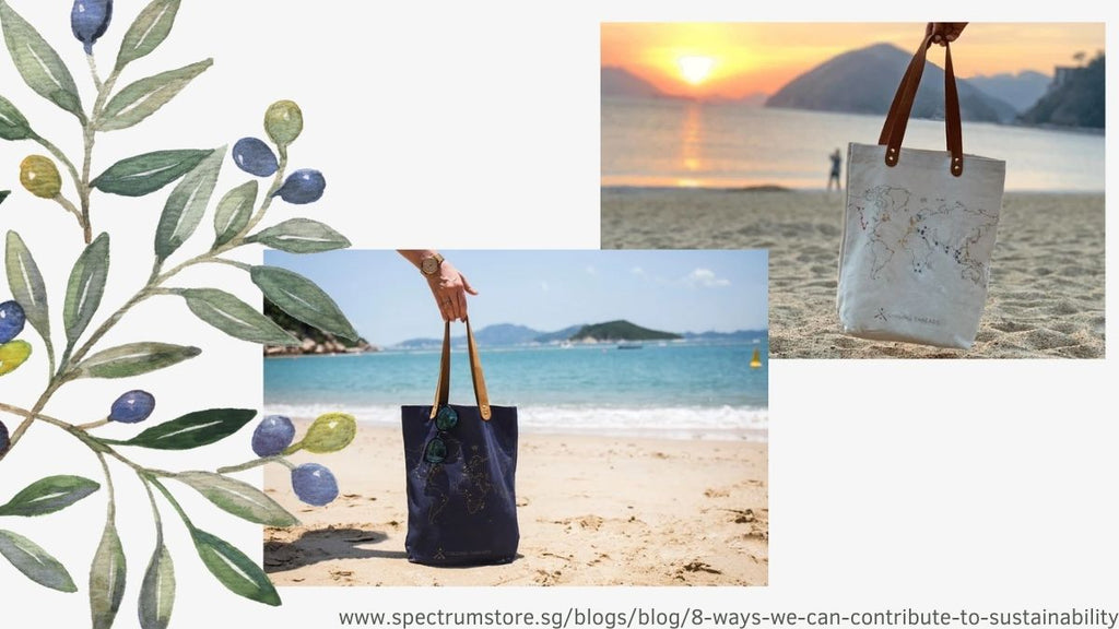 8 Ways We Can Contribute To Sustainability Spectrum Store Bring A Reusable Bag