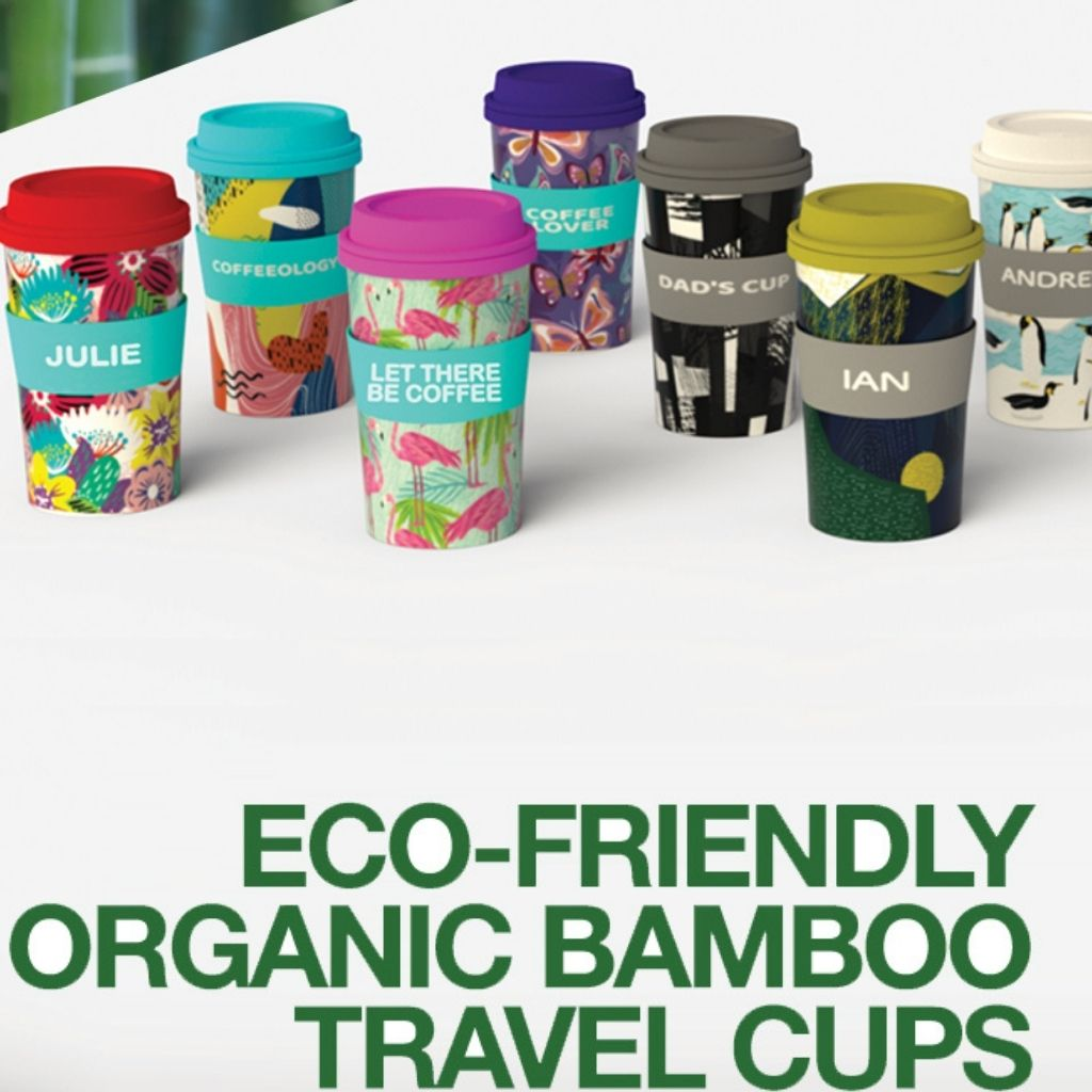 Bamboo Fiber Cups by Global Journey