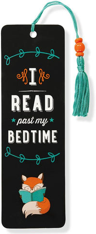 Beaded Bookmark: I Just Read Past My Bedtime