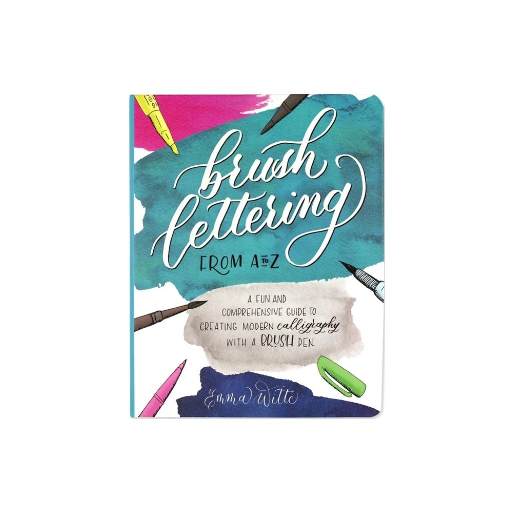 Brush Lettering From A to Z by Peter Pauper Press