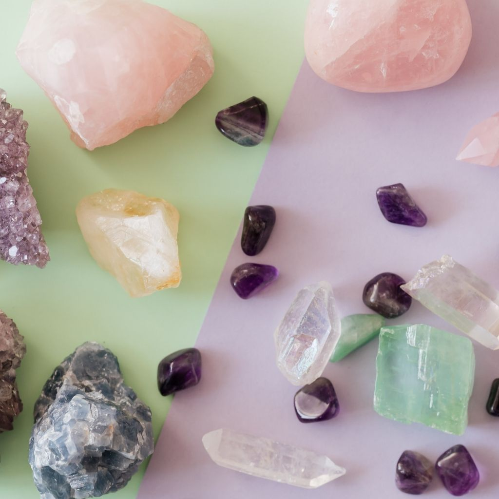 Energy Stones & Healing Crystals by British Fossils