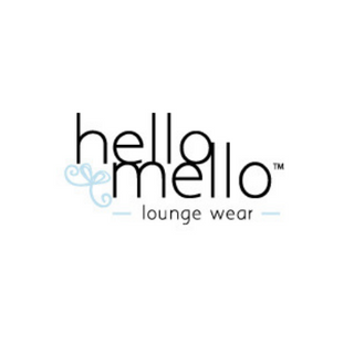 hello mello lounge wear logo