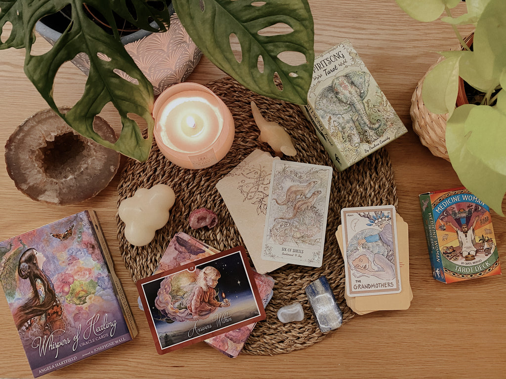 Joie Tan On Tarot & Oracle Cards Spectrum Store
