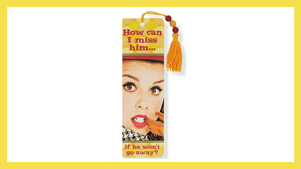 Pantone Colors of the Year for 2021 Ultimate Gray and Illuminating  Beaded Bookmark How Can I Miss Him by Peter Pauper Press