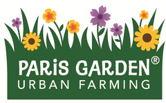 paris garden urban farming logo