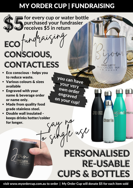 ECO CONSCIOUS CONTACTLESS HASSLE FREE FUNDRAISING