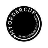 MY ORDER CUP LOGO
