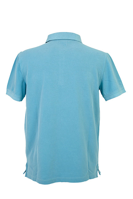 Men's Polo Shirt - Turquoise