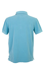 Load image into Gallery viewer, Men's Polo Shirt - Turquoise