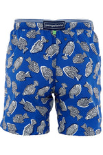 Load image into Gallery viewer, Men's Classic Swimmers - Blue Fish