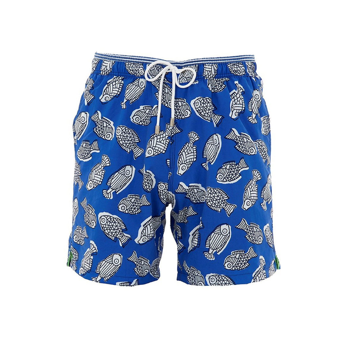 Men's Classic Swimmers - Blue Fish