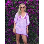Load image into Gallery viewer, Ladies PomPom Beach Poncho