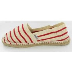 Red Stripe Espadrille