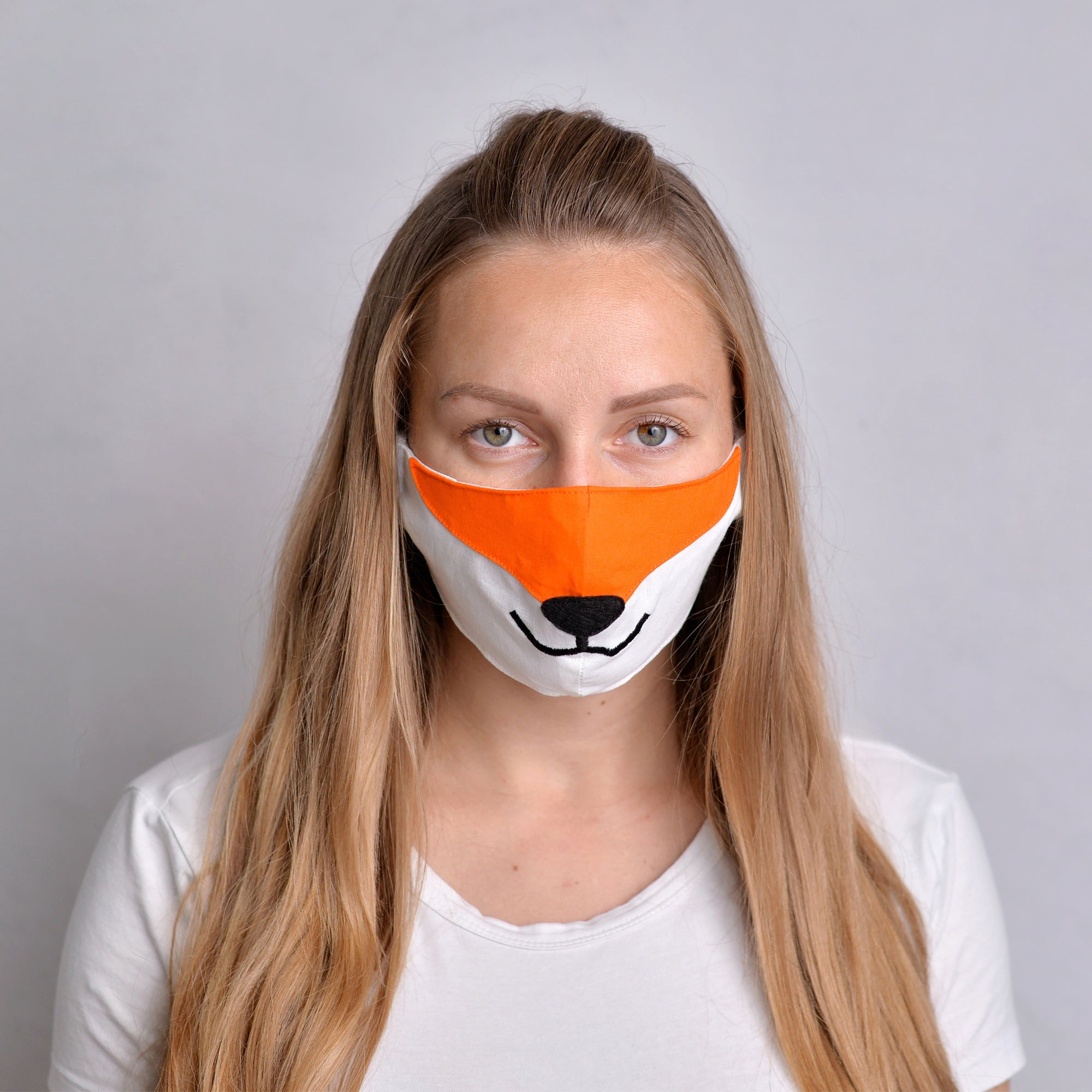 Fox Face Mask with filter pockets