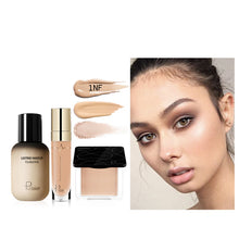 Load image into Gallery viewer, Pudaier Face Foundation Makeup Set Liquid Foundation Cream Matte Foundation Base Face ALL Concealer Cosmetic Professional base