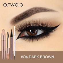 Load image into Gallery viewer, O.TWO.O 3pcs Eyes Makeup Set Ultra Fine 1.5mm Eyebrow Lengthening Mascara Long Lasting Waterproof Eyeliner Cosmetic Kit