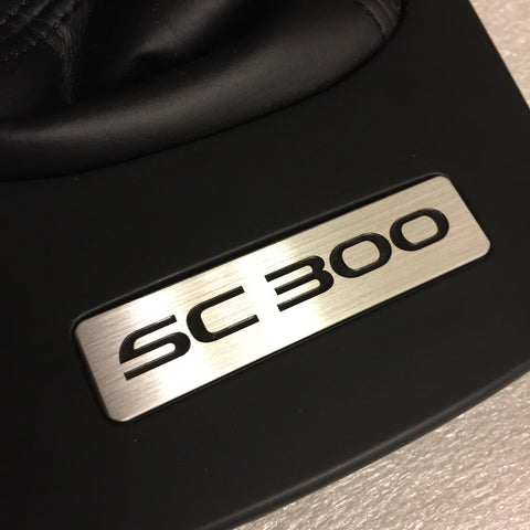 "Z30 Concepts ""SC300"" - Brushed Aluminum Manual Bezel Insert For SC300"