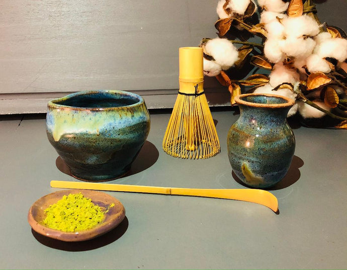 Matcha Set - Blue/Green