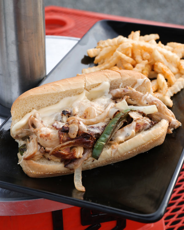 New York Style Chicken Cheesesteak Sandwich