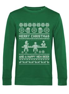 Kneipenkult Osnabrück Christmas Sweater: Happy New Beer