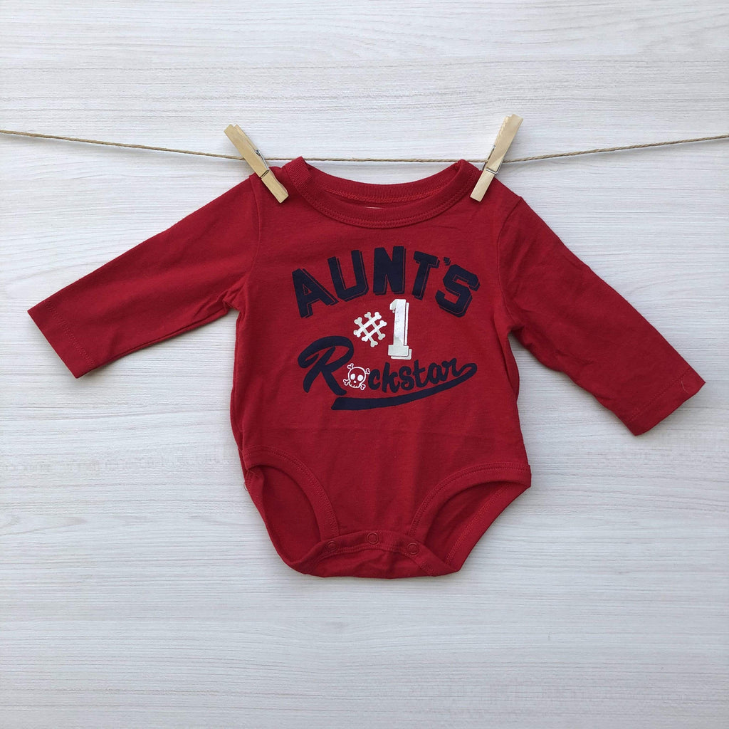 OshKosh B´gosh Body/Pilucho BODY BEBE  ROJO 3 A 6  MESES