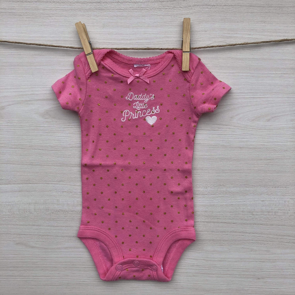 S/Marca Body/Pilucho BODY DADDY´S LITTLE PRINCESS 0 A 1 MES