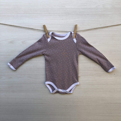 Opaline Body/Pilucho BODY PALO ROSA PUNTITOS 3 MESES