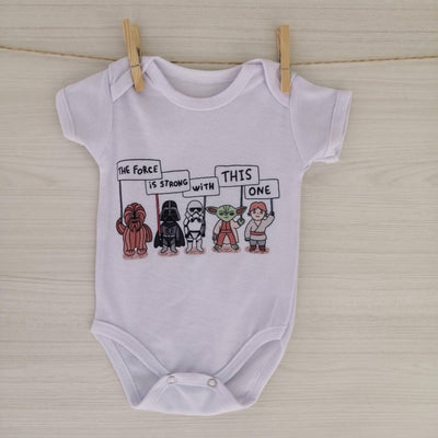 S/Marca Body/Pilucho BODY STAR WARS 3 MESES