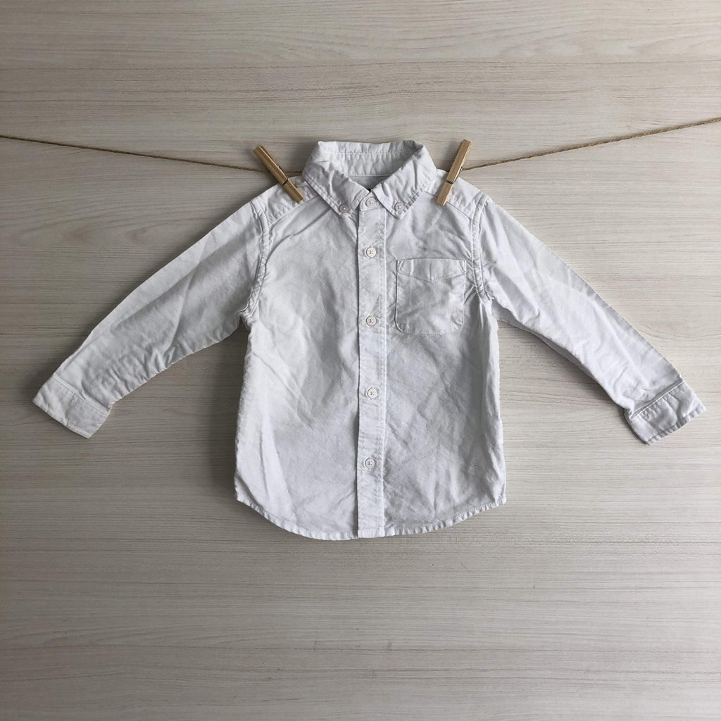 The Children´s Place Camisas/Poleras CAMISA BLANCA 24 MESES