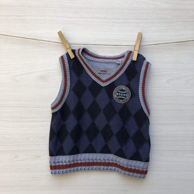 Mexx Chalecos/Sweaters CHALECO SIN MANGAS BASEBALL CHAMPS 9 A 12 MESES